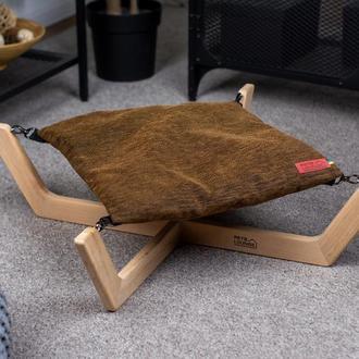 Лежак для собак и котов Pets Lounge Big Hammock, коричневый