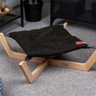 Лежак для собак и котов Pets Lounge Big Hammock, чёрный