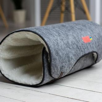 Коврик для домашних животных Pets Lounge Tunnel Gray, 84 х 50 см