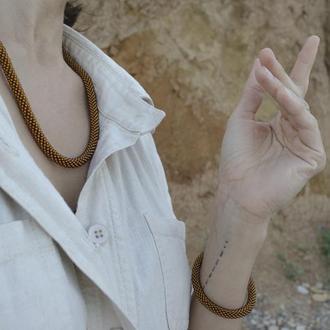Жгут-трансформер рука/шея тёмно-коричневый