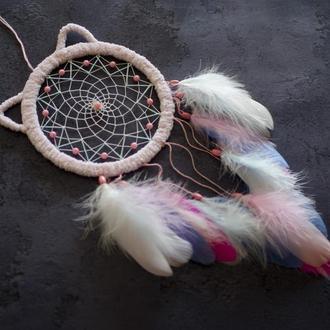 Ловец снов для девочки. Ловец снов в детскую. Розовый ловец снов. Ловец снов кошка.