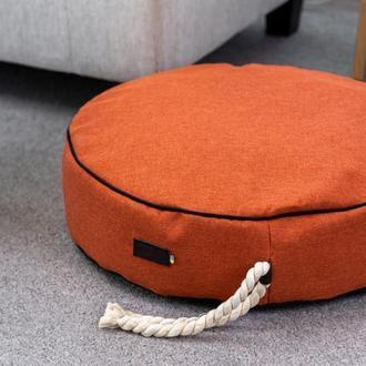 Лежак - подушка для собак и кошек Pets Lounge Pet Pillow Orange, 60 см