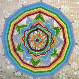 Мандала плетеная