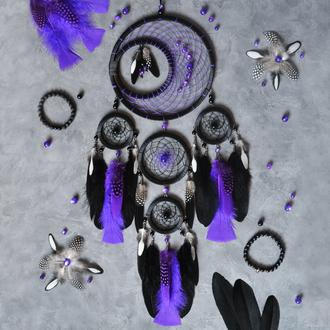 """Ловец снов """"Фиолетовая луна"""""""