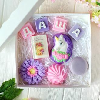 Набор мыла детский к Дню Рождения девочки