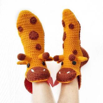 Носки-жирафы