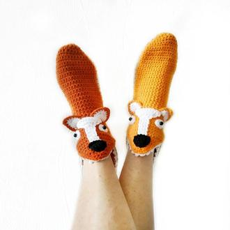 Носки-лисы