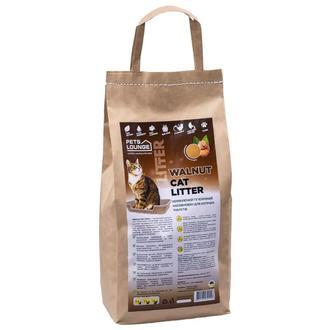 Наполнитель для кошачьего туалета Pets Lounge Walnut Cat Litter, из скорлупы грецкого ореха 3 кг