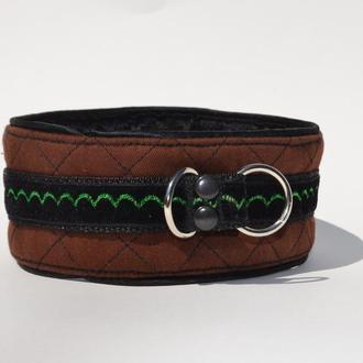 Brown Poodle's Collar. Mod. Mary Ошенийк для Пуделя