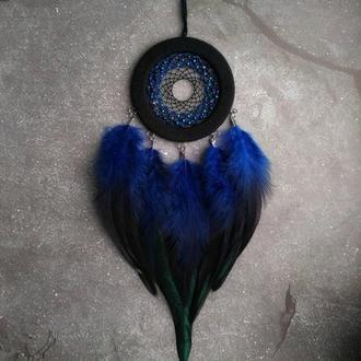 ловец снов сине-черный с переливом
