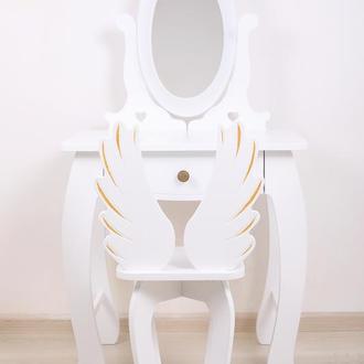 Детское Трюмо Ангел, детский туалетный столик