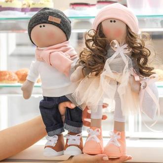 Парные игрушки Куклы Молодята