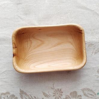 "Деревянная посуда. Тарелка глубокая ""Липа 10"""