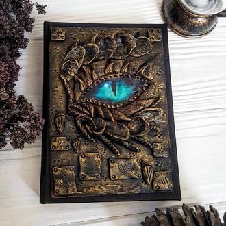 Блокнот с драконом