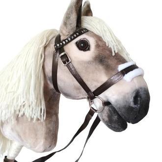 Конь на палке Лошадка на палочке Игрушечный конь Hobby Horse
