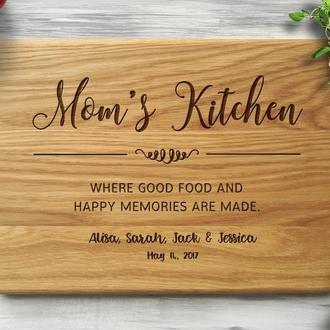 "Разделочная доска ""Mom's Kitchen"""