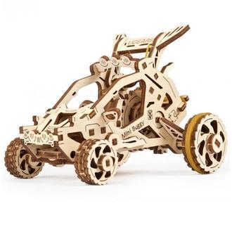 Механический 3D-конструктор Ugears «Мини Багги»