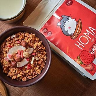 "Гранола ""Strawberry"" от Homa"