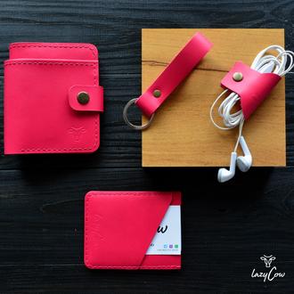 Подарунковий набір рожевого кольору для дівчини