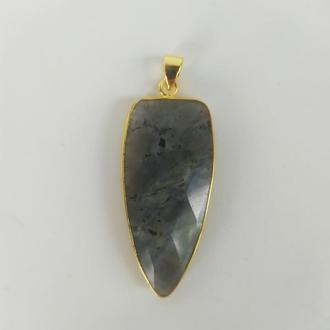Кулон из натурального камня лабрадор