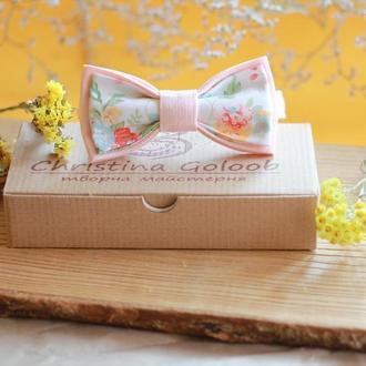 """Бабочка пудровая ( розовый пион)"""" Romantik"""""""