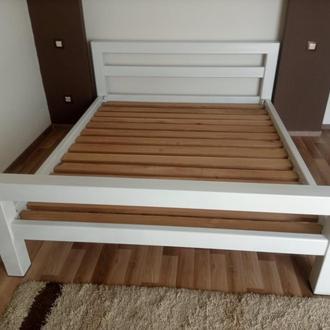 Кровать в спальне в стиле loft / кровать в стиле loft