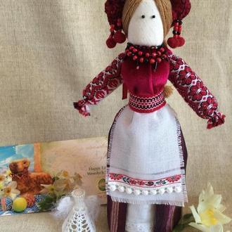 Авторская кукла-мотанка,  единственный экземпляр ВСЕСЛАВА
