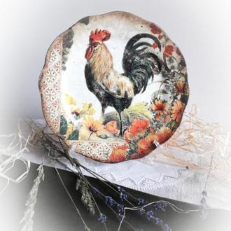 Тарелка декоративная.