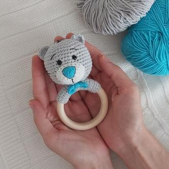 Игрушка погремушка Тедди