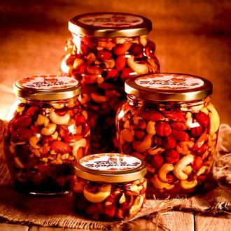 Микс орехов мёде / Орехи в мёде / Орехи в меду / Ассорти орехов меду