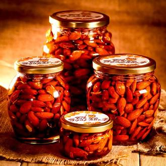 Миндаль в мёде / Миндаль в меду / Орехи в мёде / Орехи в меду / Миндаль с мёдом