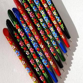 Ручка петриковская роспись