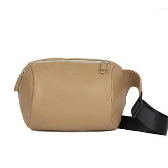 Поясная сумка Easy темно-бежевая флотар