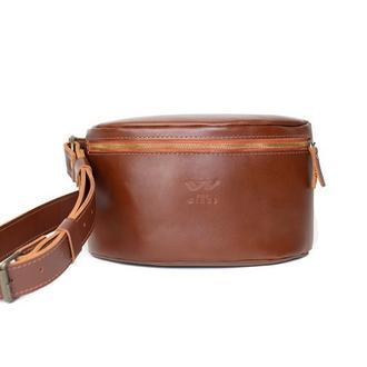 Поясная сумка светло-коричневая BeltBag