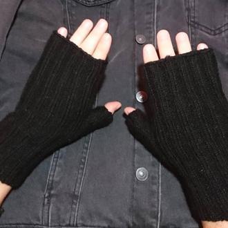 Мужские перчатки без пальцев - подарок на день защитника Украины