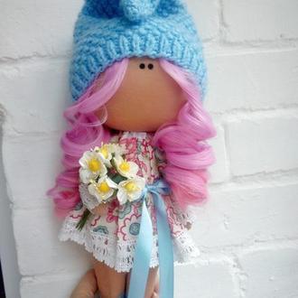 Інтер'єрна лялька карамельний-зефір