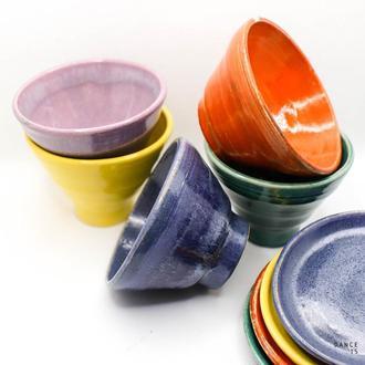 Чашка керамическая для кофе Еспресо Rainbow