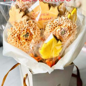 Пряничный букет Хризантемы