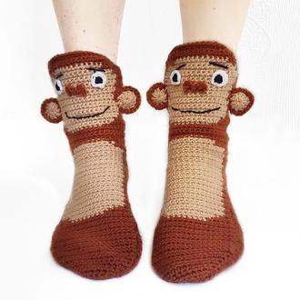 Носки-обезьяны