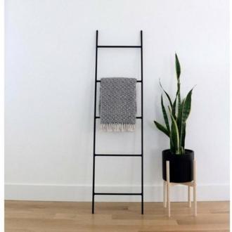 Лестница для одежды полотенец декоративная