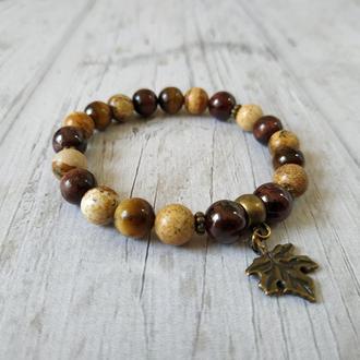 Жіночий браслет з натурального каменю Ж15 17