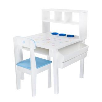 Детский стол и 2 стульчика, деревянный Woodasfun