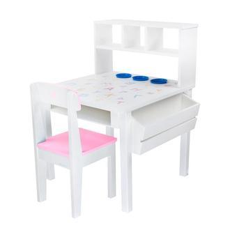 Детский стол и 2 стульчика, деревянный, Woodasfun