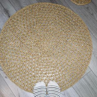 Эко коврик 65cм, Коврик из джута, Коврик для ванной комнаты