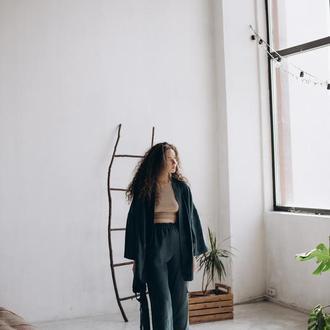 Женское кимоно с кюлотами