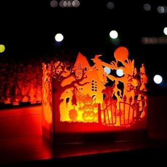 Ночник Halloween беспроводной