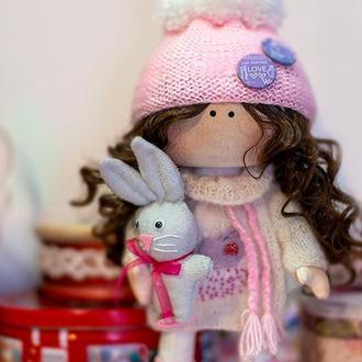 Кукла с Зайчиком