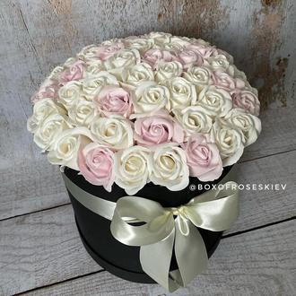 Букет из 51 мыльных роз