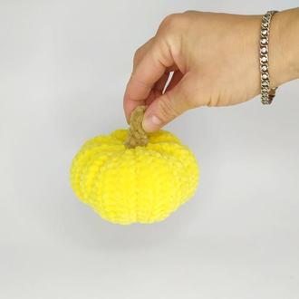Мягкая игрушка тыква + вариант декора фотозоны