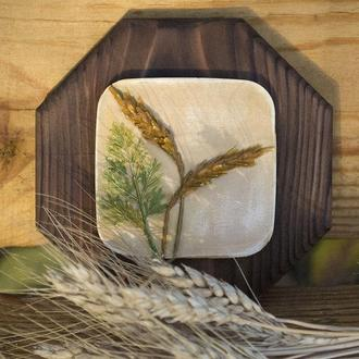 Интерьерное панно ′Колосья пшеницы′